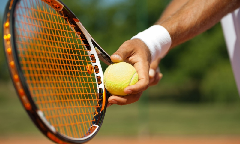 Μαθήματα τένις από τον ειδικό!