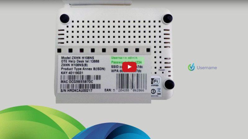 Πώς να φέρεις το ZTE H108NS router στα μέτρα σου