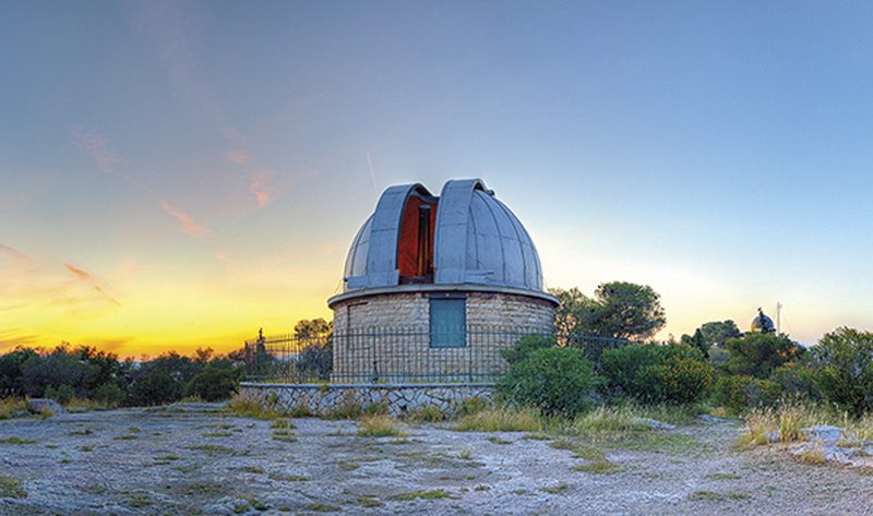 Μια βόλτα στο αστεροσκοπείο Αθηνών
