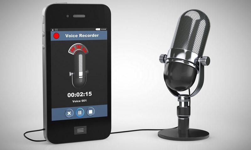 Εγγραφή φωνής στο κινητό