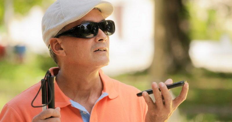 Τώρα οι τυφλοί αντιλαμβάνονται τον κόσμο μέσα από το κινητό