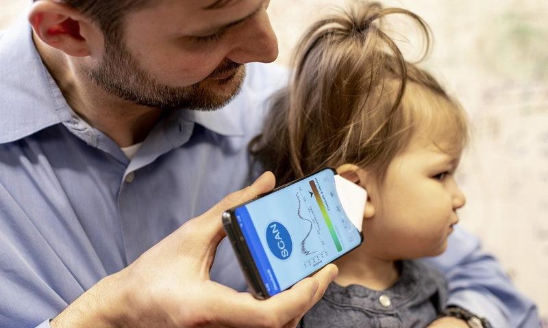 Το smartphone εντοπίζει την ωτίτιδα