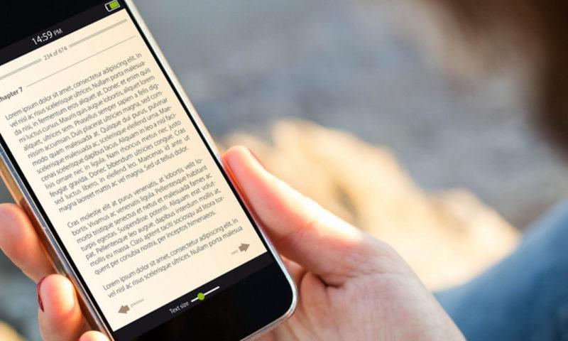 Το κινητό σου είναι και e-reader. Ευκαιρία για διάβασμα