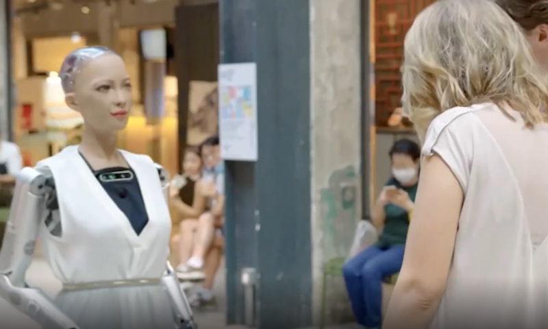 Η Σοφία είναι ένα ρομπότ που μοιάζει όσο κανένα άλλο με άνθρωπο