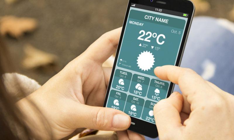 Τι καιρό θα κάνει; Δες το σε app!