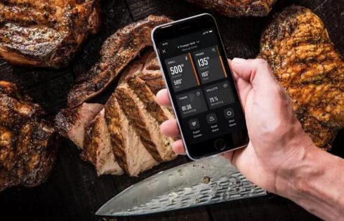 Το ρολόι σου προσέχει μην παραψηθεί το κρέας