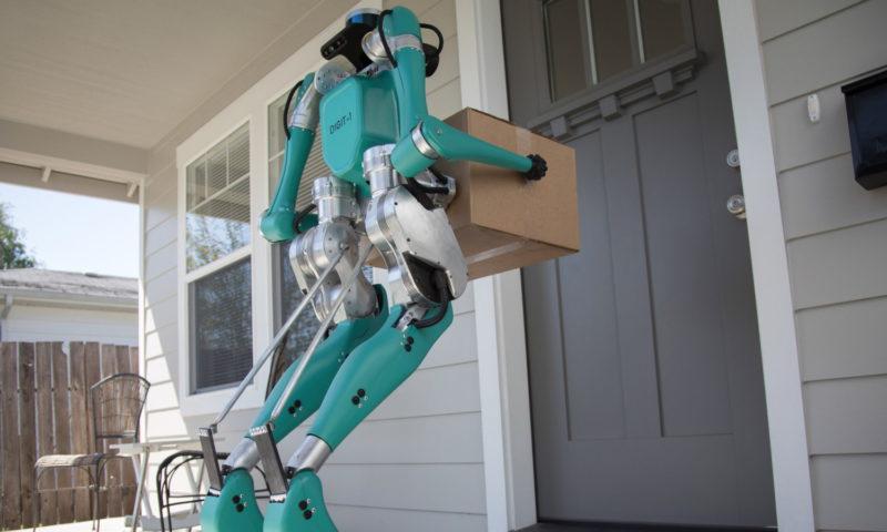 Ρομπότ παραδίδουν δέματα