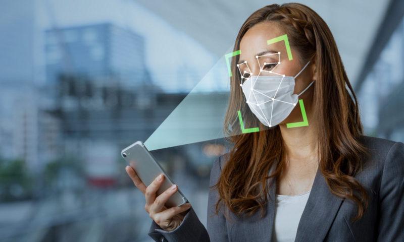 Ξεκλείδωμα κινητού με μάσκα